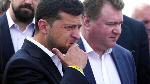 Президент Украины Владимир Зеленский в Черкассах