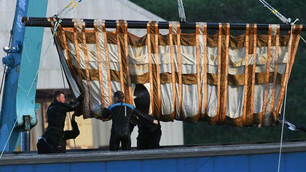 Третий этап выпуска на волю косаток из китовой тюрьмы