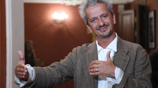 Художественный руководитель театра на Малой Бронной, режиссер Константин Богомолов