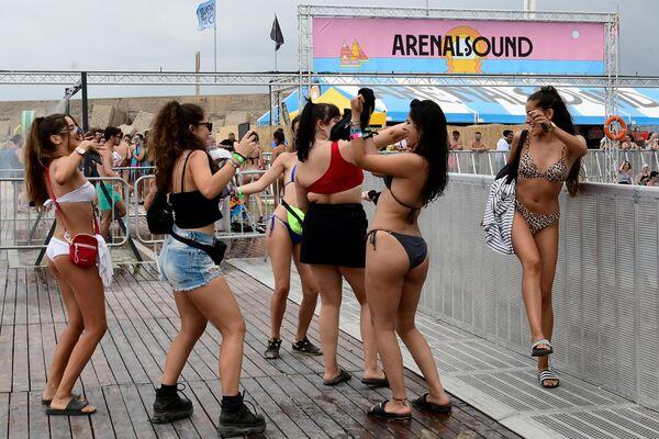 Музыкальный фестиваль Arenal Sound в Бурриане, Испания. 31 июля 2019 года