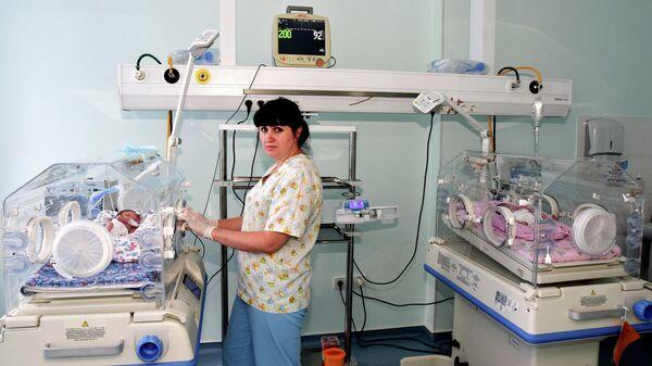 Новые инкубаторы в перинатальном центре Крыма
