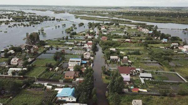 Белогорск в воде: уровень паводка в городе превысил отметки 2013 года