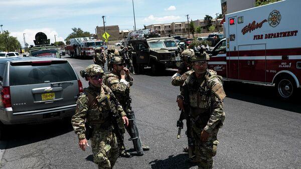 Стрельба в торговом центре Walmart на западе Техаса, США