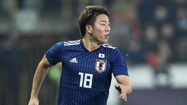 Нападающий сборной Японии Такума Асано