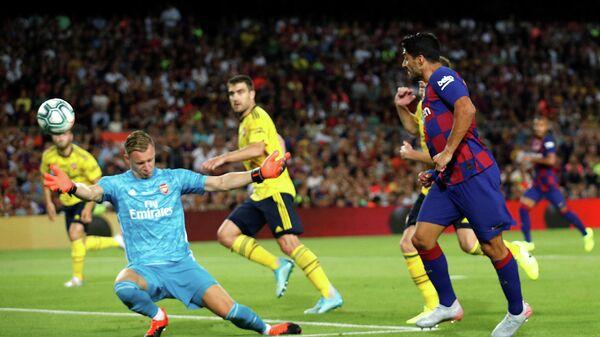 Товарищеский матч Барселона - Арсенал