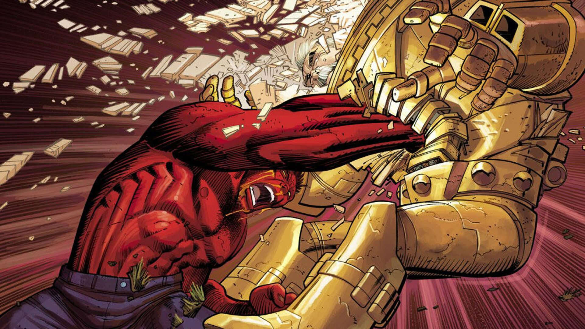 Красный Халк (Red Hulk) - РИА Новости, 1920, 13.11.2019