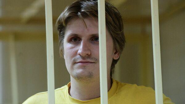 Блогер Владислав Синица на заседании Пресненского суда города Москвы