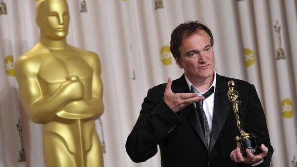 Режиссер Квентин Тарантино на церемонии вручения премии Оскар в Лос-Анджелесе. 24 февраля 2013 года