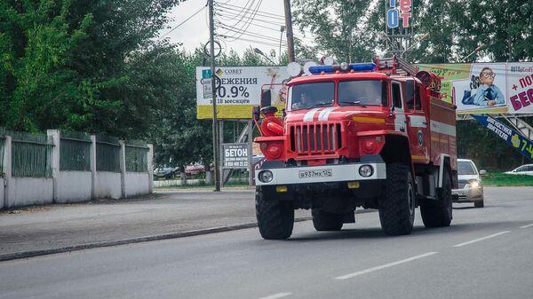 Пожарная машина в Ачинске
