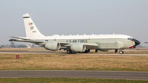 Самолет Boeing RC-135U Combat Sent ВВС США