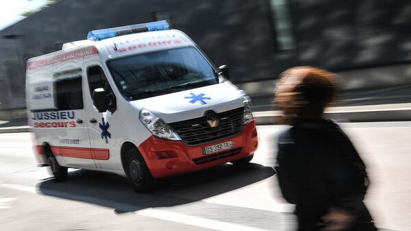 Машина скорой помощи в Нанте, Франция