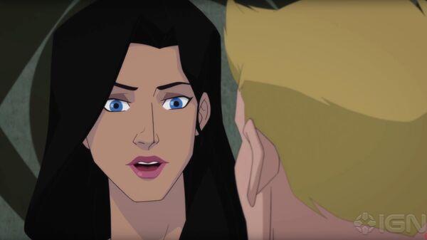 Кадр из мультфильма Wonder Woman: Bloodlines