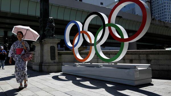 Символика Олимпийских игр в Токио