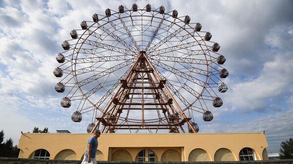 Открытие нового колеса обозрения в Новосибирке