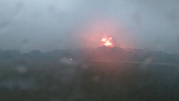 Взрыв на военном полигоне под Ачинском. 9 августа 2019