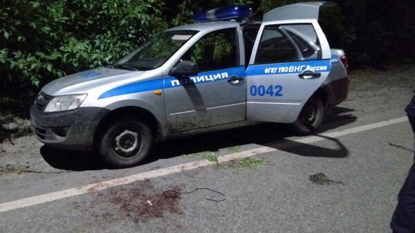 На улице Интернациональной города Тюмени  велосипедист обстрелял двух сотрудников Росгвардии. 10 августа 2019