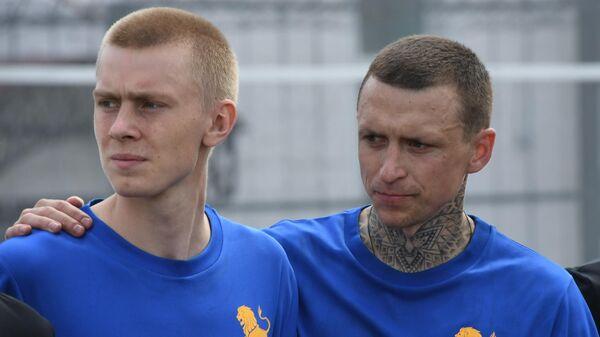 Кирилл Кокорин (слева) и Павел Мамаев