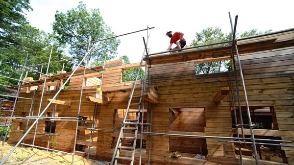 Строительство лесной школы на «дальневосточном гектаре»  в Приморье