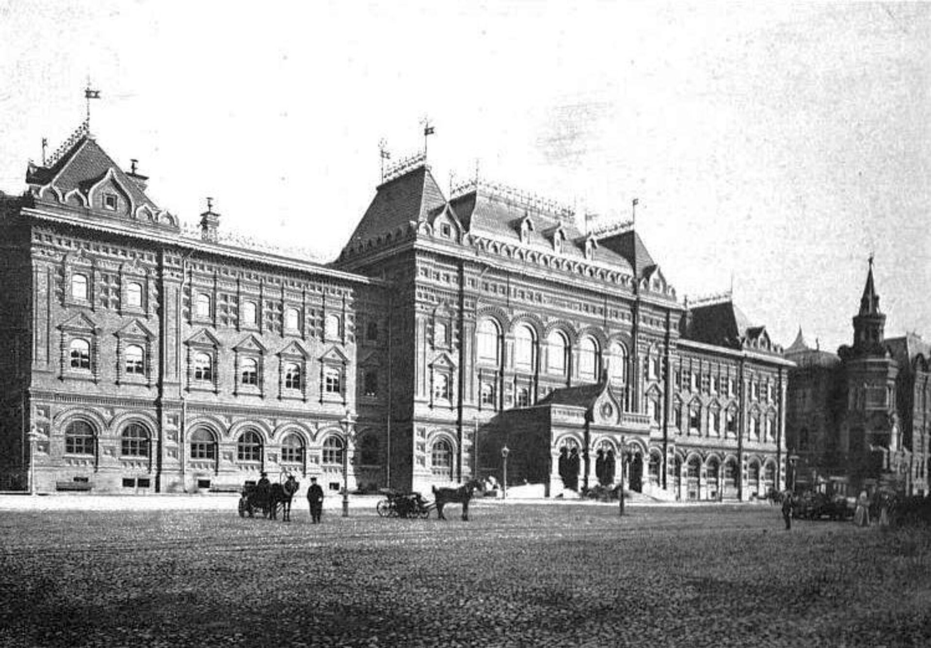 Здание Московской городской думы в 1905 году - РИА Новости, 1920, 14.10.2020