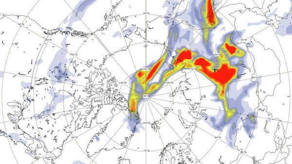 Смог от сибирских пожаров достиг севера Гренландии