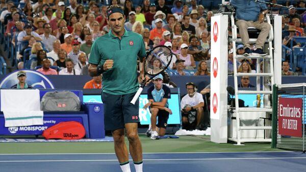 Федерер вышел в третий круг турнира в Цинциннати