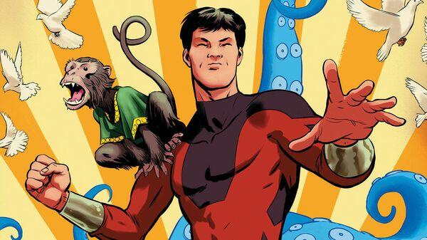 Персонаж американских комиксов Marvel Comics Шанг-Чи