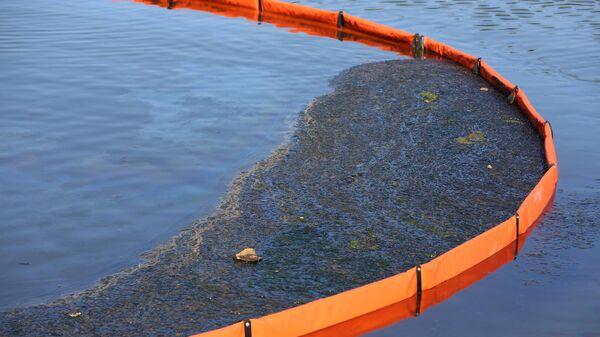 Мероприятия по ликвидации загрязнения нефтепродуктами реки Сайма в городе Сургуте