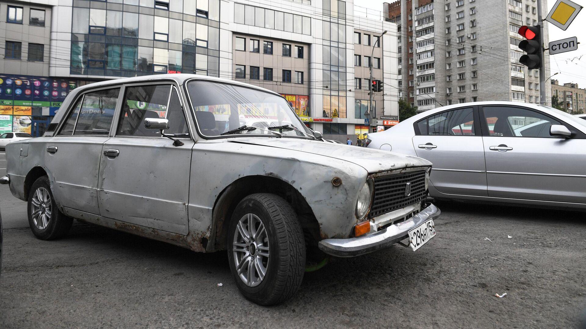 Автомобиль ВАЗ 2101 - РИА Новости, 1920, 21.02.2020