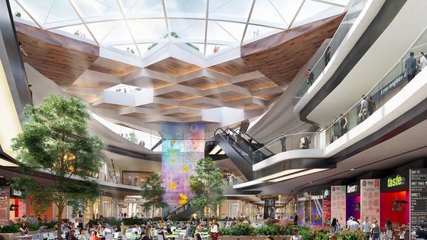 Проект многофункционального торгового центра Павелецкий в Москве
