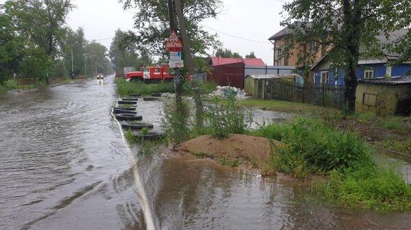 Ликвидация последствий циклона в Хабаровском крае