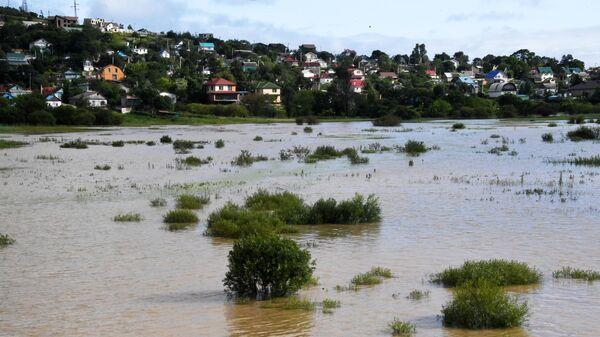 Последствия тайфуна Кроса в Приморском крае.  17 августа 2019