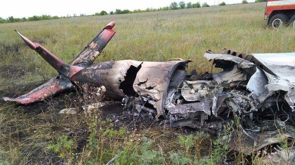Падение легкомоторного самолета Як-55 в Самарской области. 18 августа 2019