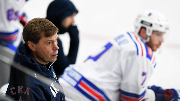 Главный тренер СКА Алексей Кудашов