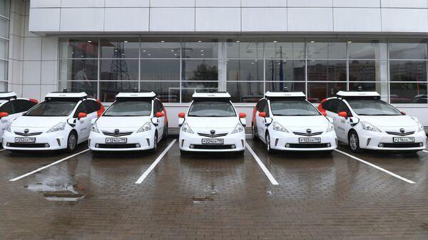 Тестирование беспилотного автомобиля Яндекс в Москве