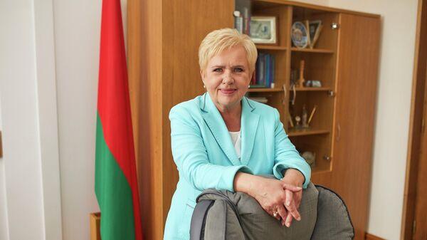 Глава ЦИК Белоруссии Лидия Ермошина
