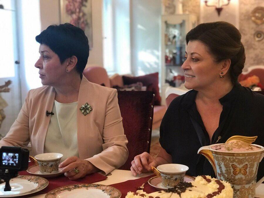 Наташа Барбье и меценат Ольга Лобачева