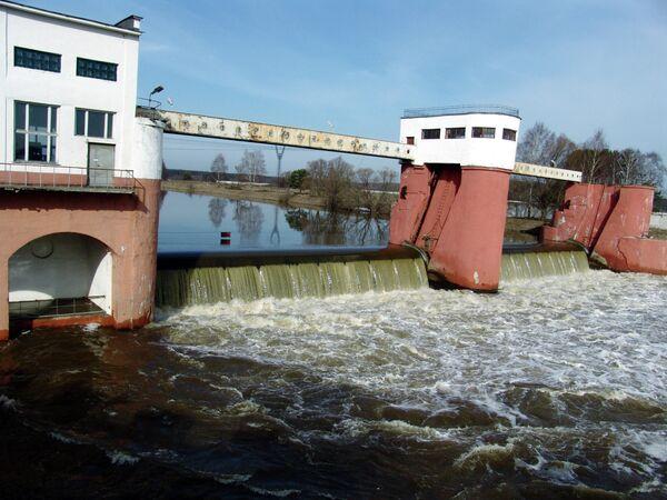 Гидросооружения Рублевской водопроводной станции