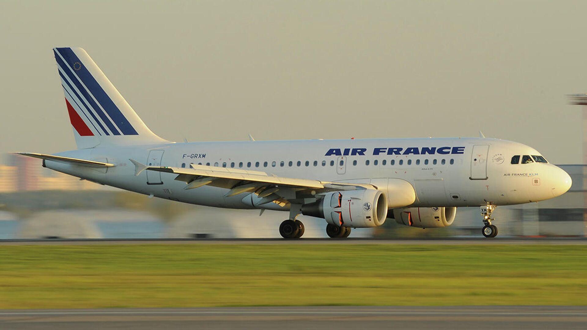 Самолет Airbus A319 авиакомпания Air France  - РИА Новости, 1920, 27.05.2021