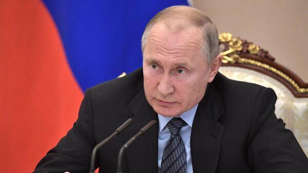 LIVE: Владимир Путин встречается с главами угледобывающих регионов