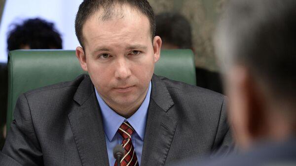 Председатель Федерации профсоюзов самопровозглашенной Луганской народной республики Олег Акимов