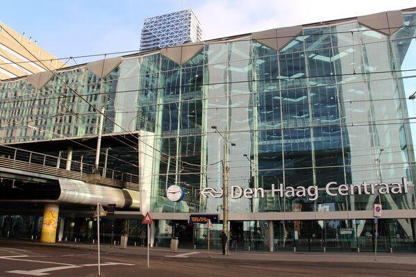 Центральный вокзал в Гааге