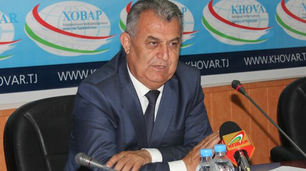 Министр образования и науки Таджикистана Нуриддин Саид