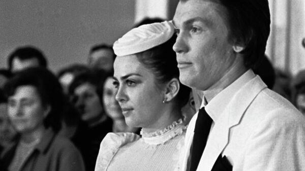 Ирина Дерюгина и Олег Блохин