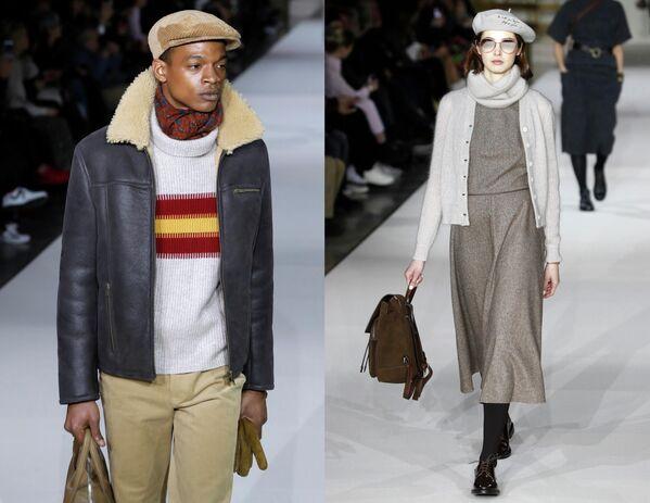 Показ коллекции одежды сезона Осень-Зима 2019/2020 Agnes в Париже