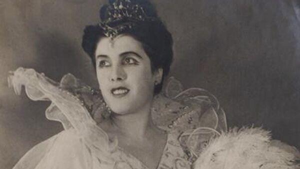 Артистка балета Большого театра Нина Иванова