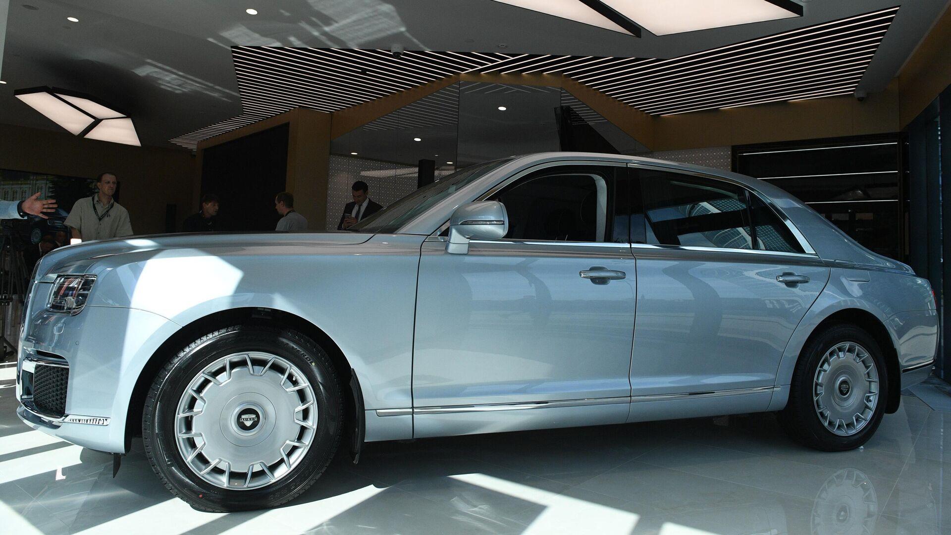 Серийное производство Aurus начнется на заводе в Елабуге в мае