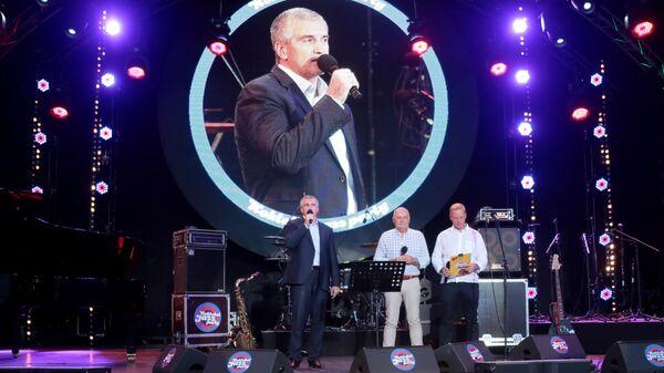 Глава Республики Крым Сергей Аксёнов а 17-м международном музыкальном фестивале Koktebel Jazz Party в Крыму