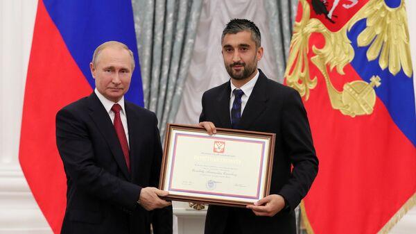 Владимир Путин и Александр Самедов