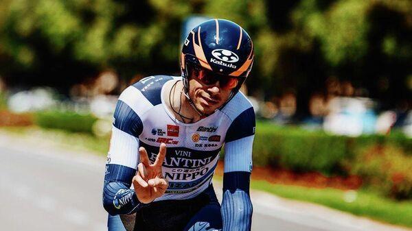 Велогонщик Марко Канола (Италия)