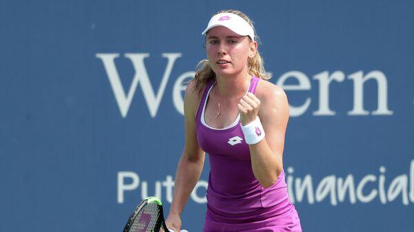 Теннисистка Екатерина Александрова (Россия)